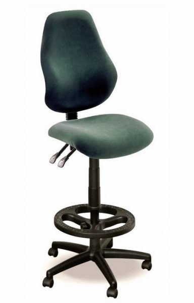 Draughtsman chair with Nylon Footring