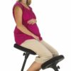 Pregnant lady on Kneeling Chair