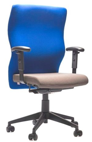 Heavy duty ergonomic chair