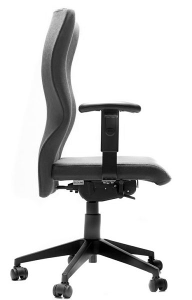 Heavy Duty Ergonomic Chair side view