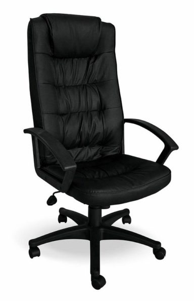 High Back Office Chair in PVC