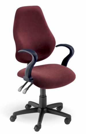 Typist Chair with Armrests