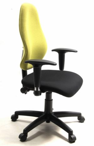 Typist Chair with Adjustable Arms