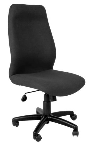 High Back Office Chair with no armrests