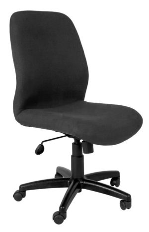 Mid Back Office Chair with no armrests