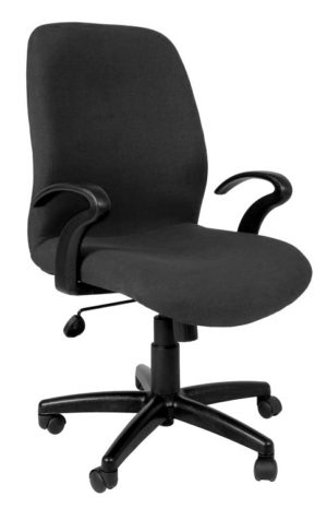 Mid Back Office Chair with armrests