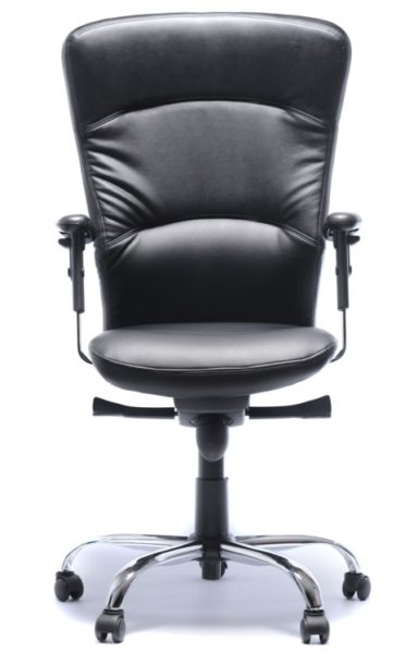 Front View of Ergonomic Chair