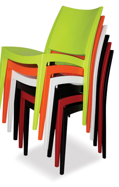 Stacked Libby Chairs