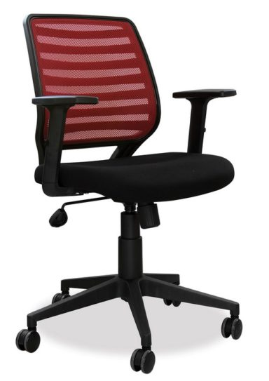 Mesh Back Operator Chair with Adjustable Arms