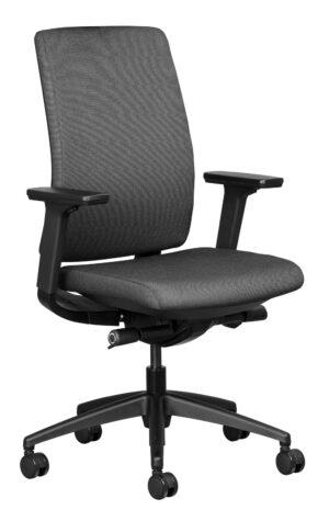 Ergonomic office chair in Grey